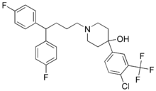 Penfluridol chemical structure