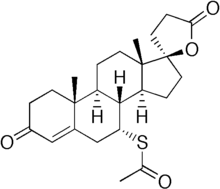 Spironolactone chemical structure