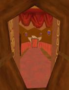 Hallway scrubbed