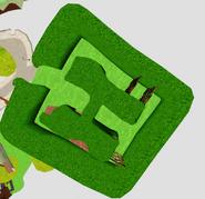 Maze scrubbed