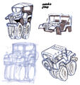 Coach jeep