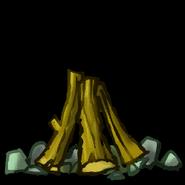 Raz campfire