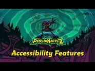 Psychonauts 2 Accessibility Feature Q&A w-Senior Producer Kevin Johnson