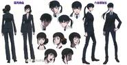 Psycho-Pass 2 Kunizuka and Shimotsuki