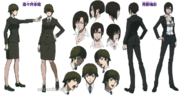 Psycho-Pass 2 Shisui and Aoyanagi