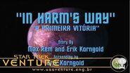 Star Trek Phase İİ - Episódio 1 - A primeira vitória (İn Harm's Way) - em português
