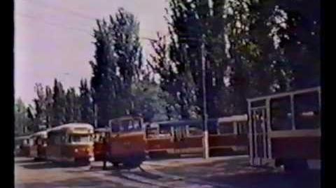 Киевскому трамваю 100 лет