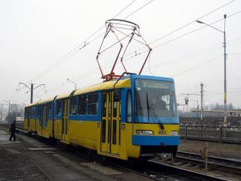 Вагон КТ3 в Києві