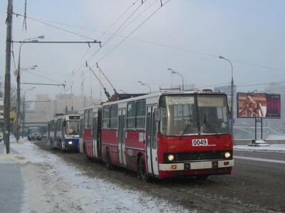 Moscow trolleybus Ikarus-280T 0049 (17610836675).jpg