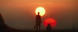 Rey adota o sobrenome Skywalker.