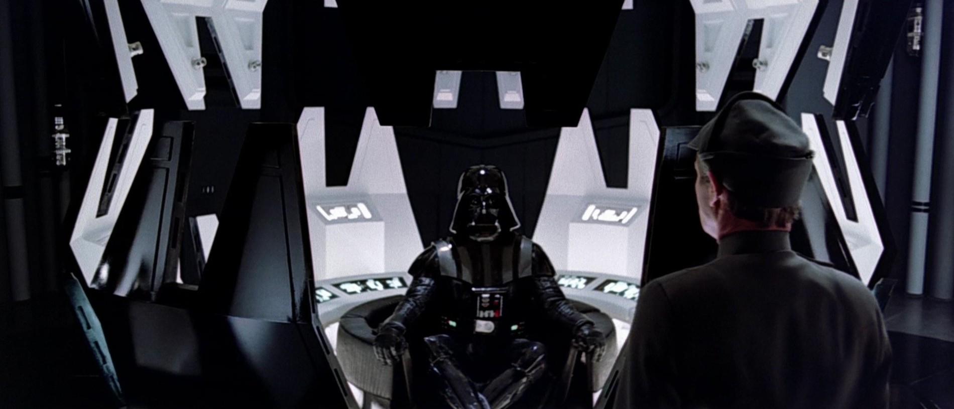 Câmara de meditação de Darth Vader