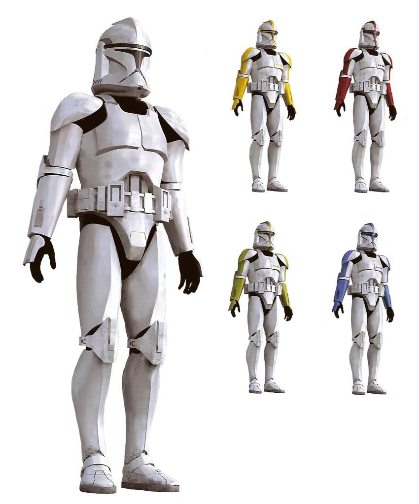 Armadura clone trooper fase I