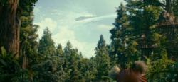 Revoltas contra a Primeira Ordem irromperam por toda a galáxia, inclusive em Endor.