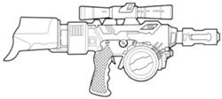 Rifle blaster WESTAR-M5
