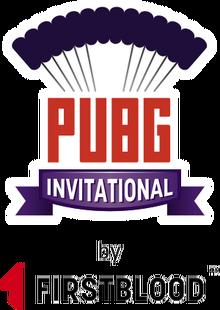 First Blood PUBG Invitational Full Logo.png