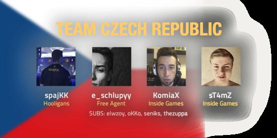 Team Czech Republic 2018 Roster