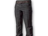 Swobodne spodnie (czarne)
