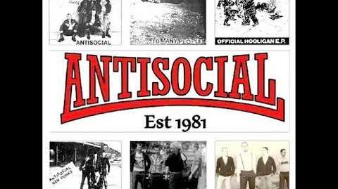 Antisocial - Battle Scarred Skinheads! (Full Album)