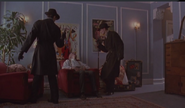 SandovalMax and Klaus observing Toulon's corpse