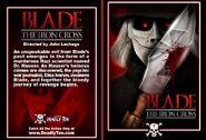Blade the iron cross card