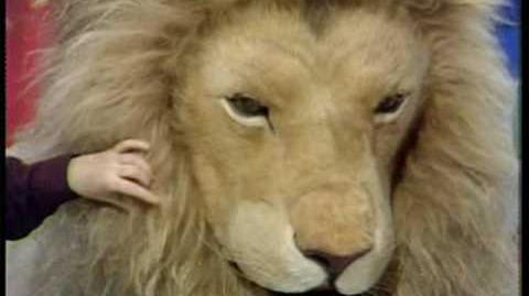 Blue Peter- How they made Aslan