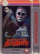 Babysitter bloodbath vhs