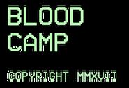 BLOOD CAMP real logo