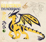 Pure electroy thunderfang by dragonoficeandfire-d9leima