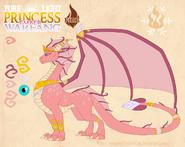 Pure light princess ember warfang by dragonoficeandfire-d9lipep