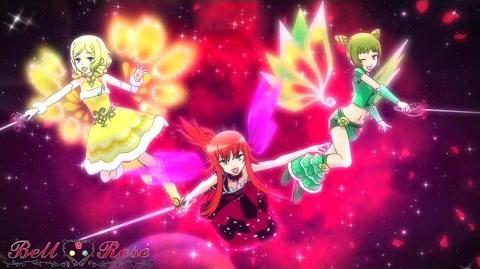 【AMV】プリティーリズム・レインボーライブ Bell ♡ Rose 「Rosette Nebula」