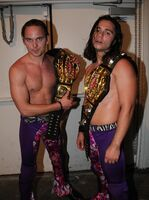 Young bucks open the united gate