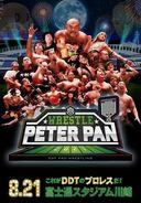 Wrestle Peter Pan 2021 poster