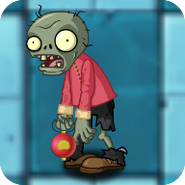 Tricky Lantern ZombieO
