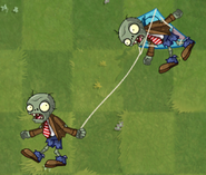 Kite Flying Zombie