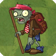 Camper Zombie Grass