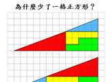 為什麼少了一格正方形?