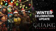 Quake Champions – Actualización de la celebración invernal