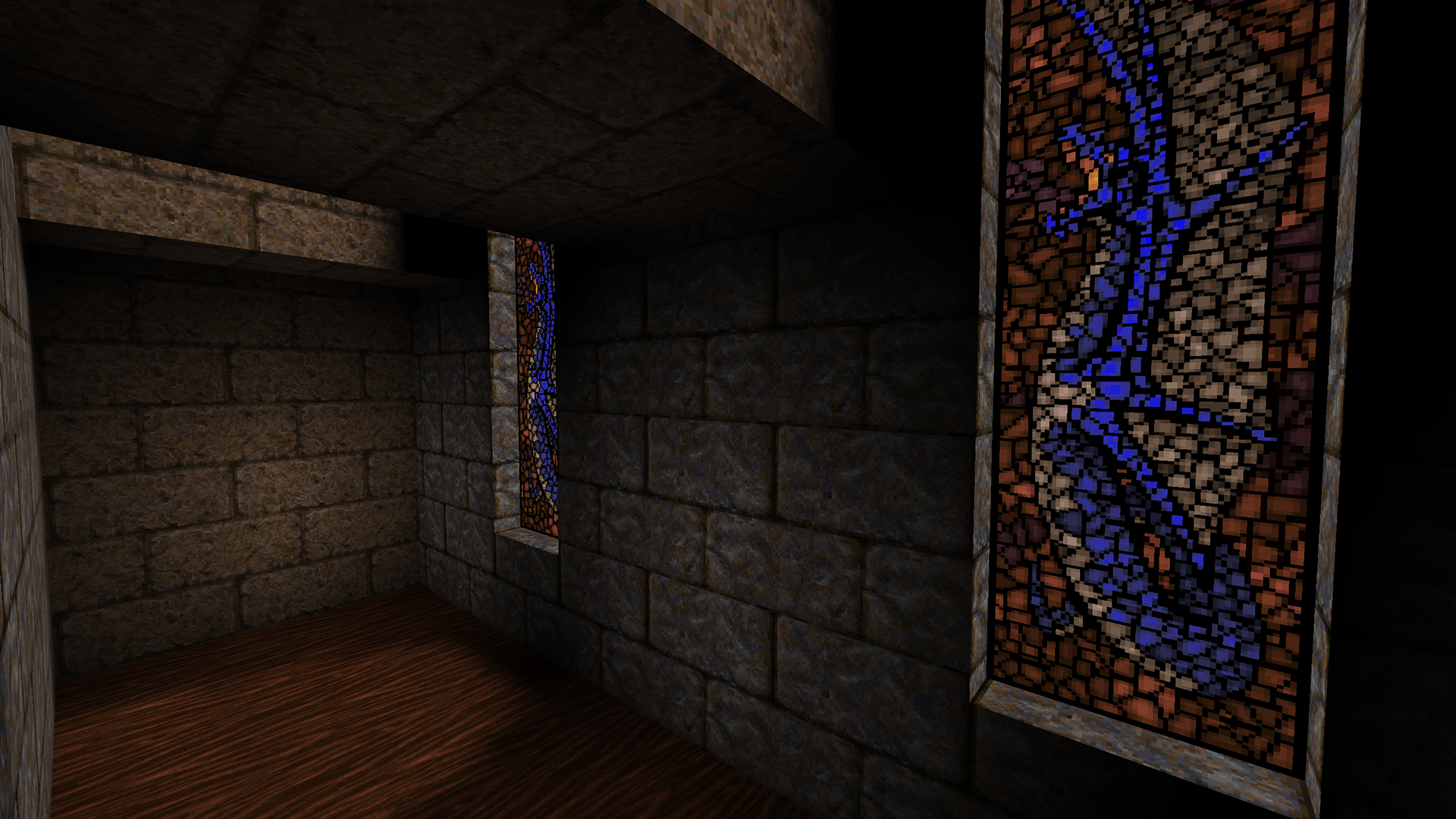 Window Textured Portal Lighting