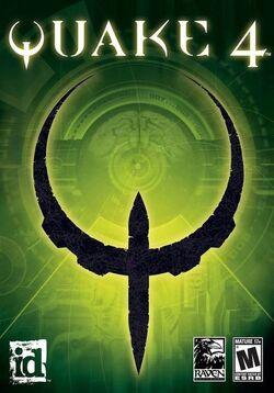 Quake 4 Official Game Case
