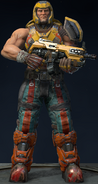 QUAKE Champions Characters - Ranger - Infantry (2)