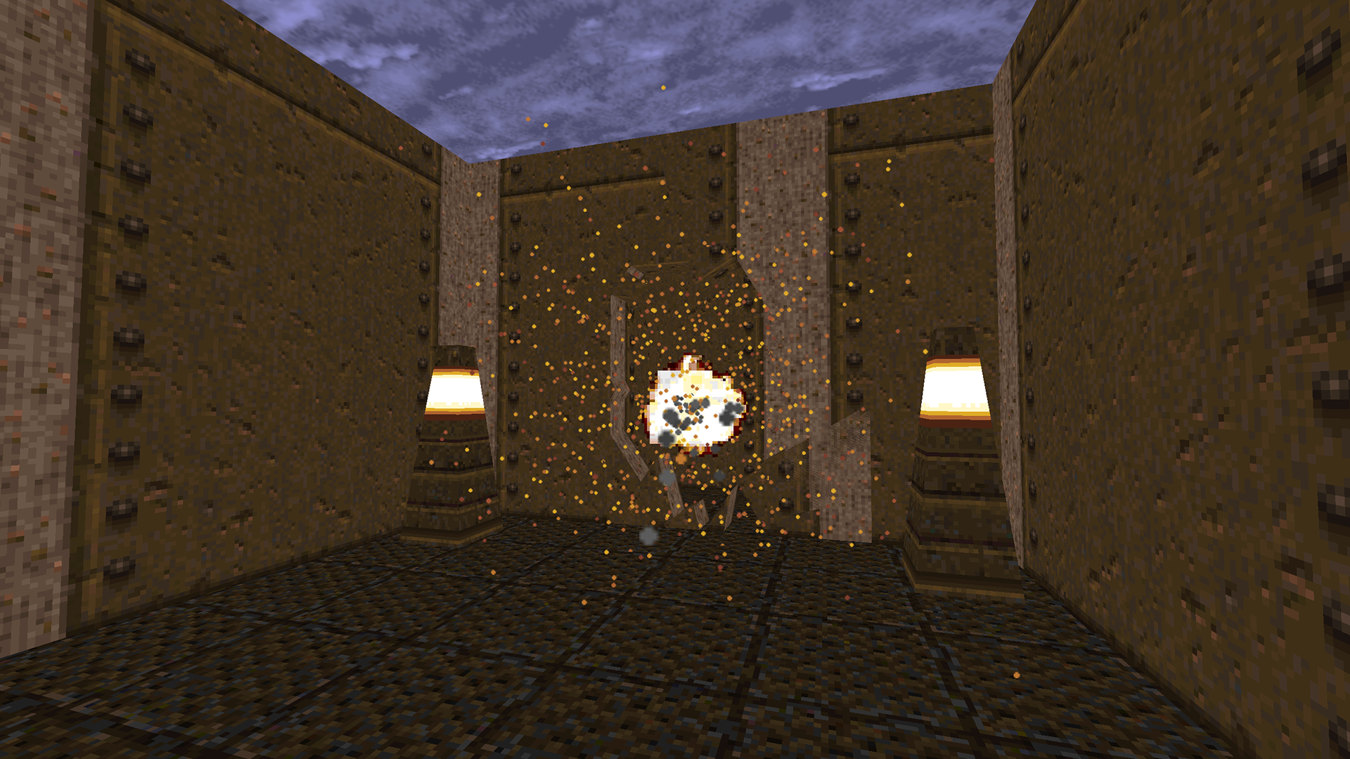 Exploding Wall - from The QuakeLab