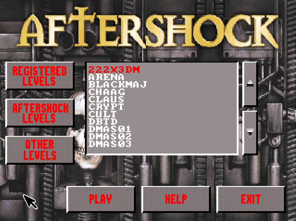 Aftershock Standalone Levels
