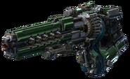 QC Weapon Railgun Left