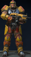 QUAKE Champions Characters - Ranger - Heavy Assault (3)