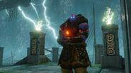 Quake Champions - Scalebearer Oni Skin