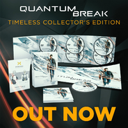 Quantum Break Timeless Collectors Edition Ad