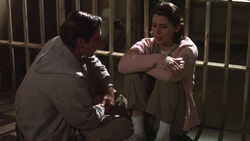 "Sam and former ""Evil Leaper"" Alia leap together into inmates at a women's prison in Ohio in 1987 in the episode ""Revenge of the Evil Leaper"" in Season 5."