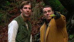 "As Vietnam War veteran Henry Adams, Sam is mistaken for Bigfoot in rural Washington state in ""The Beast Within"" in Season 5."