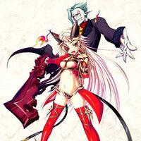 """JAPAN Queen/'s Blade Rebellion /""""Summoner Aldra/"""" Book"""