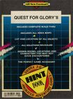 Quest For Glory II Hintbook